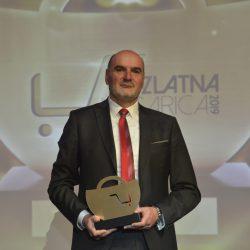 Igor Zamlic u ime RISa preuzeo nagradu Zlatna košarica 2019 u kategoriji Tehnološki dobavljač godine