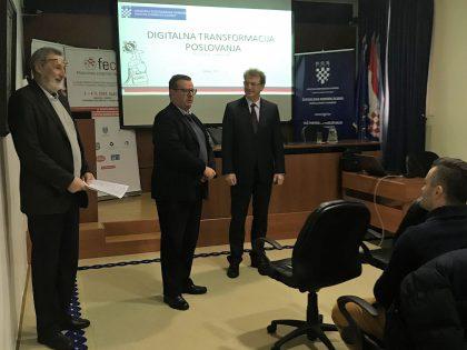 DIGITALNA TRANSFORMACIJA POSLOVANJA: Predavanje u ŽK Rijeka