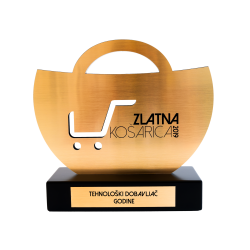 Nagrada Zlatna košarica - RIS je Tehnološki dobavljač godine