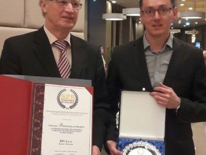 """Prestižno priznanje RIS-u na regionalnom Summitu poduzetnika """"300 najboljih"""""""