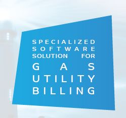 Specialized software solution for gas utility billing